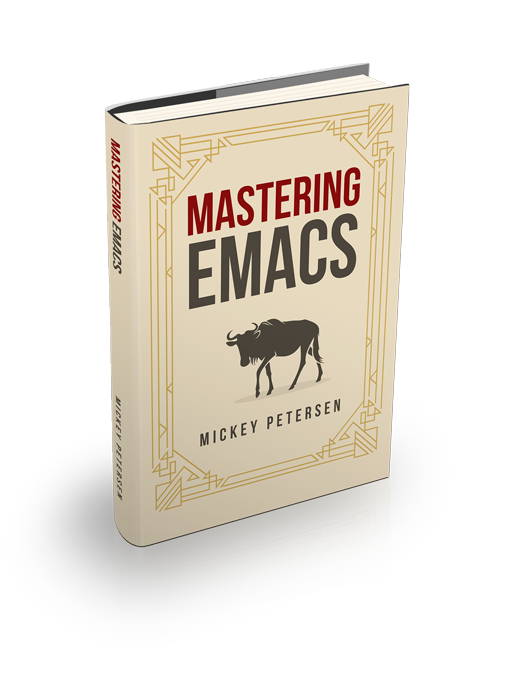 The Mastering Emacs ebook cover art